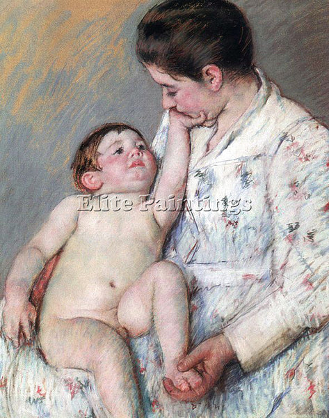 MARY CASSATT CASS55 ARTIST PAINTING REPRODUCTION HANDMADE CANVAS REPRO WALL DECO
