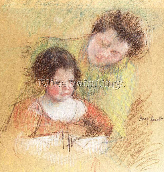 MARY CASSATT CASS56 ARTIST PAINTING REPRODUCTION HANDMADE CANVAS REPRO WALL DECO