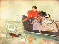 MARY CASSATT CASS58 ARTIST PAINTING REPRODUCTION HANDMADE CANVAS REPRO WALL DECO