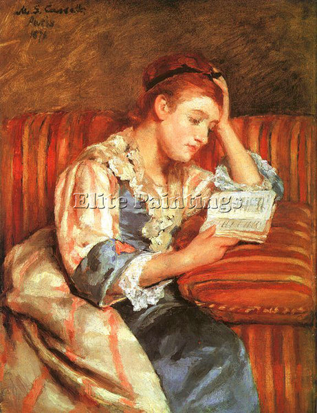 MARY CASSATT CASS60 ARTIST PAINTING REPRODUCTION HANDMADE CANVAS REPRO WALL DECO