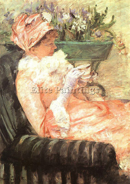 MARY CASSATT CASS61 ARTIST PAINTING REPRODUCTION HANDMADE CANVAS REPRO WALL DECO
