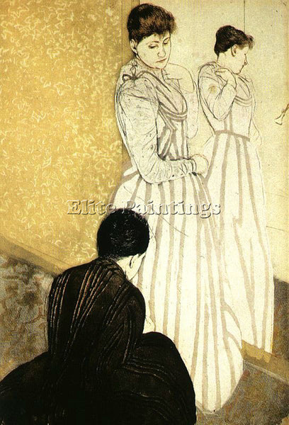 MARY CASSATT CASS64 ARTIST PAINTING REPRODUCTION HANDMADE CANVAS REPRO WALL DECO