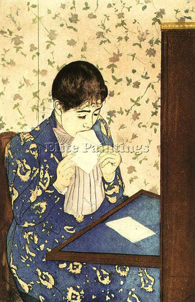 MARY CASSATT CASS65 ARTIST PAINTING REPRODUCTION HANDMADE CANVAS REPRO WALL DECO