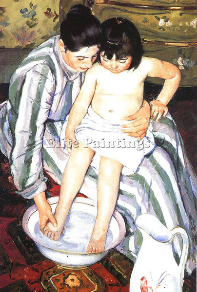 MARY CASSATT CASS66 ARTIST PAINTING REPRODUCTION HANDMADE CANVAS REPRO WALL DECO