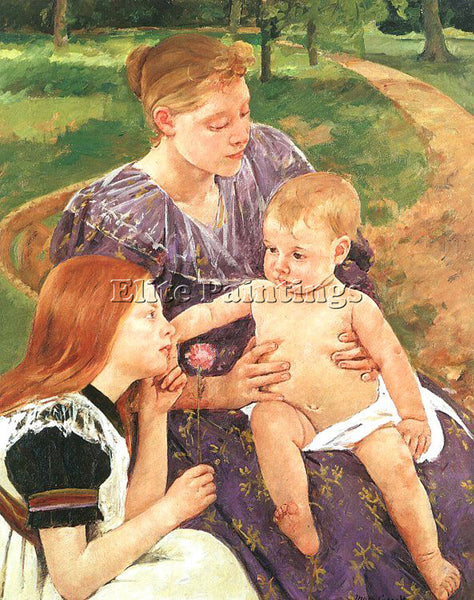 MARY CASSATT CASS67 ARTIST PAINTING REPRODUCTION HANDMADE CANVAS REPRO WALL DECO