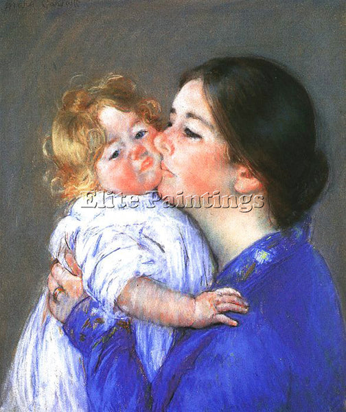 MARY CASSATT CASS68 ARTIST PAINTING REPRODUCTION HANDMADE CANVAS REPRO WALL DECO