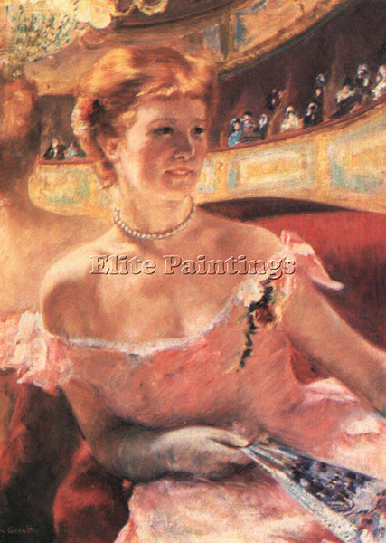 MARY CASSATT CASS76 ARTIST PAINTING REPRODUCTION HANDMADE CANVAS REPRO WALL DECO