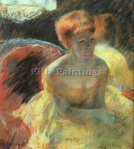 MARY CASSATT CASS77 ARTIST PAINTING REPRODUCTION HANDMADE CANVAS REPRO WALL DECO