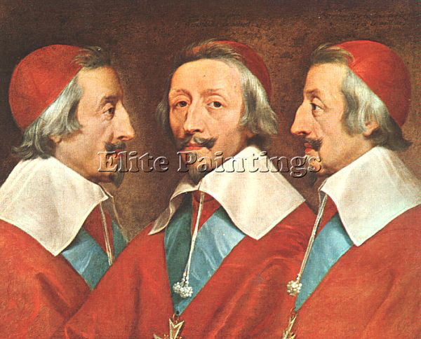 PHILIPPE DE CHAMPAIGNE CHAM4 ARTIST PAINTING REPRODUCTION HANDMADE CANVAS REPRO