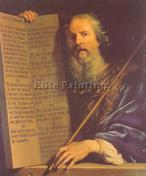PHILIPPE DE CHAMPAIGNE CHAM12 ARTIST PAINTING REPRODUCTION HANDMADE CANVAS REPRO