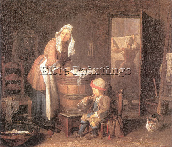 JEAN-BAPTISTE CHARDIN CHARD1 ARTIST PAINTING REPRODUCTION HANDMADE CANVAS REPRO