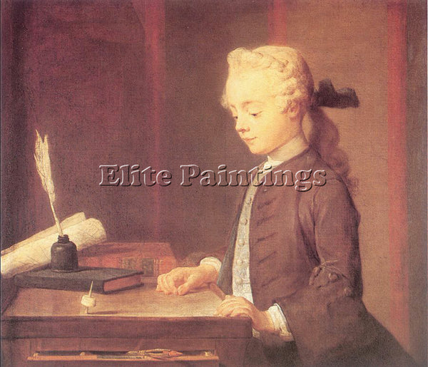 JEAN-BAPTISTE CHARDIN CHARD9 ARTIST PAINTING REPRODUCTION HANDMADE CANVAS REPRO