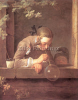 JEAN-BAPTISTE CHARDIN CHARD25 ARTIST PAINTING REPRODUCTION HANDMADE CANVAS REPRO