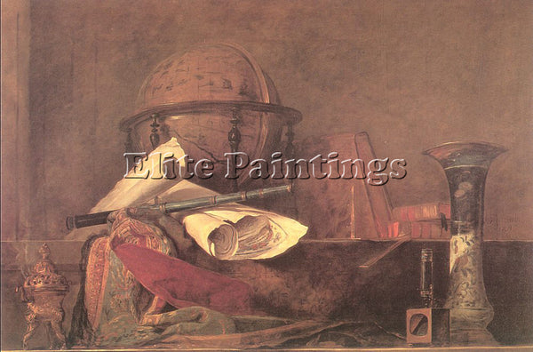 JEAN-BAPTISTE CHARDIN CHARD27 ARTIST PAINTING REPRODUCTION HANDMADE CANVAS REPRO