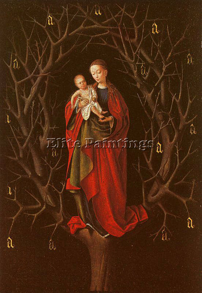 PETRUS CHRISTUS CHRIS1 ARTIST PAINTING REPRODUCTION HANDMADE CANVAS REPRO WALL