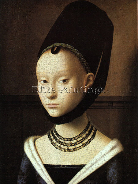 PETRUS CHRISTUS CHRIS2 ARTIST PAINTING REPRODUCTION HANDMADE CANVAS REPRO WALL