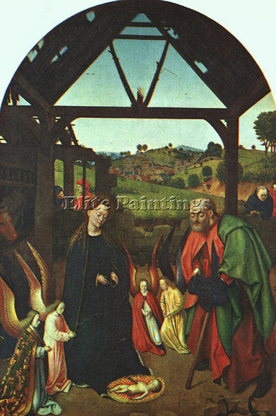 PETRUS CHRISTUS CHRIS3 ARTIST PAINTING REPRODUCTION HANDMADE CANVAS REPRO WALL