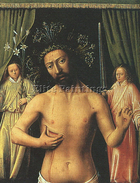PETRUS CHRISTUS CHRIS4 ARTIST PAINTING REPRODUCTION HANDMADE CANVAS REPRO WALL