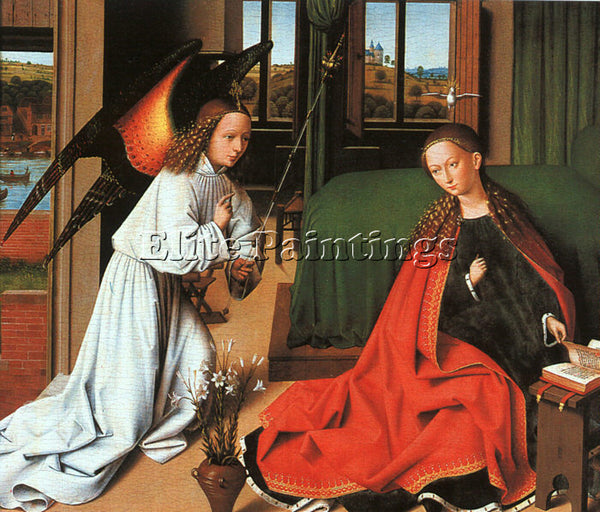 PETRUS CHRISTUS CHRIS5 ARTIST PAINTING REPRODUCTION HANDMADE CANVAS REPRO WALL
