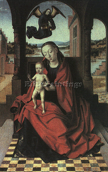 PETRUS CHRISTUS CHRIS7 ARTIST PAINTING REPRODUCTION HANDMADE CANVAS REPRO WALL