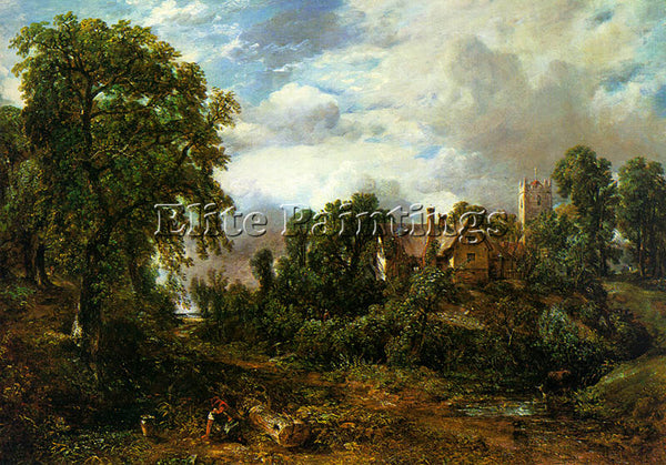 JOHN CONSTABLE CONST12 ARTIST PAINTING REPRODUCTION HANDMADE CANVAS REPRO WALL