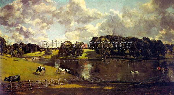 JOHN CONSTABLE CONST19 ARTIST PAINTING REPRODUCTION HANDMADE CANVAS REPRO WALL
