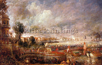 JOHN CONSTABLE CONST21 ARTIST PAINTING REPRODUCTION HANDMADE CANVAS REPRO WALL