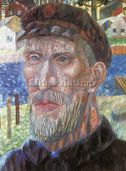 PAVEL FILONOV FILO46 ARTIST PAINTING REPRODUCTION HANDMADE OIL CANVAS REPRO WALL