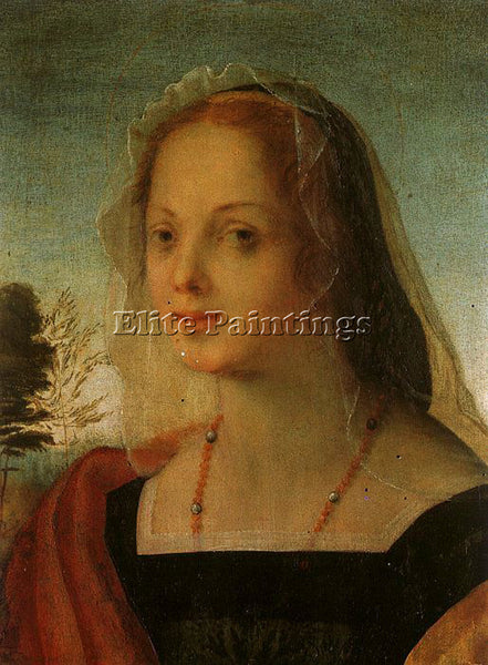 ROSSO FIORENTINO FIORE3 ARTIST PAINTING REPRODUCTION HANDMADE CANVAS REPRO WALL