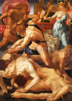 ROSSO FIORENTINO FIORE5 ARTIST PAINTING REPRODUCTION HANDMADE CANVAS REPRO WALL