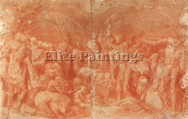 ROSSO FIORENTINO FIORE9 ARTIST PAINTING REPRODUCTION HANDMADE CANVAS REPRO WALL