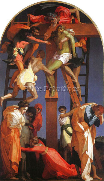 ROSSO FIORENTINO FIORE10 ARTIST PAINTING REPRODUCTION HANDMADE CANVAS REPRO WALL
