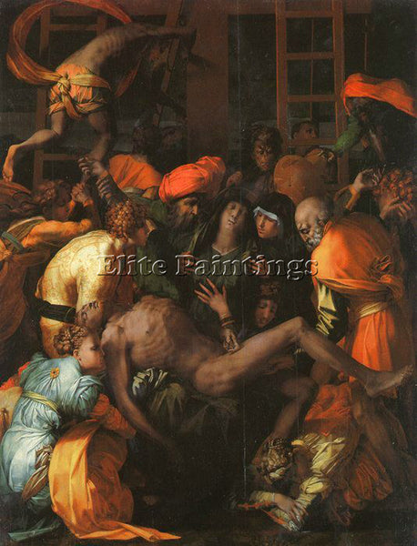 ROSSO FIORENTINO FIORE11 ARTIST PAINTING REPRODUCTION HANDMADE CANVAS REPRO WALL