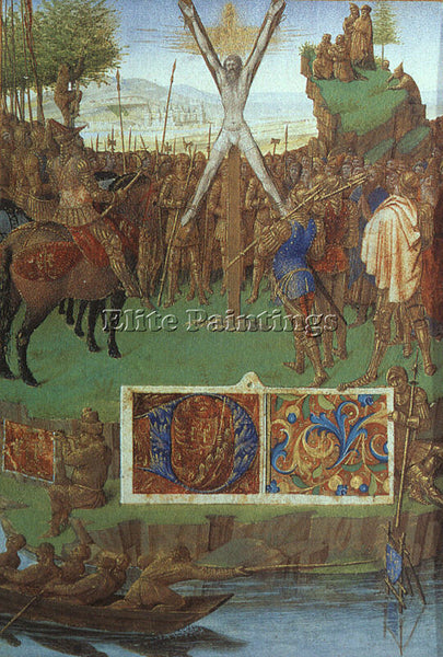 JEAN FOUQUET FOUQ1 ARTIST PAINTING REPRODUCTION HANDMADE CANVAS REPRO WALL DECO