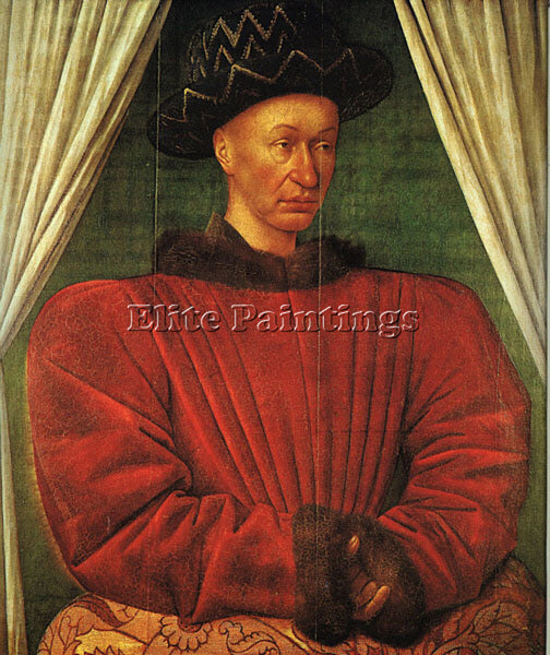 JEAN FOUQUET FOUQ2 ARTIST PAINTING REPRODUCTION HANDMADE CANVAS REPRO WALL DECO