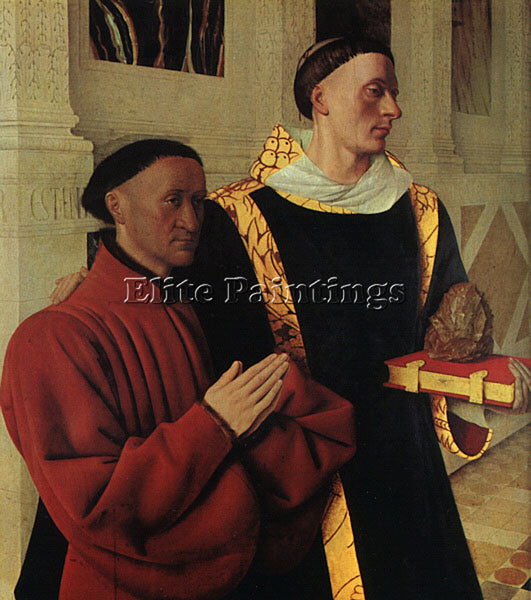 JEAN FOUQUET FOUQ3 ARTIST PAINTING REPRODUCTION HANDMADE CANVAS REPRO WALL DECO