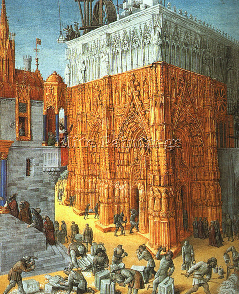 JEAN FOUQUET FOUQ5 ARTIST PAINTING REPRODUCTION HANDMADE CANVAS REPRO WALL DECO