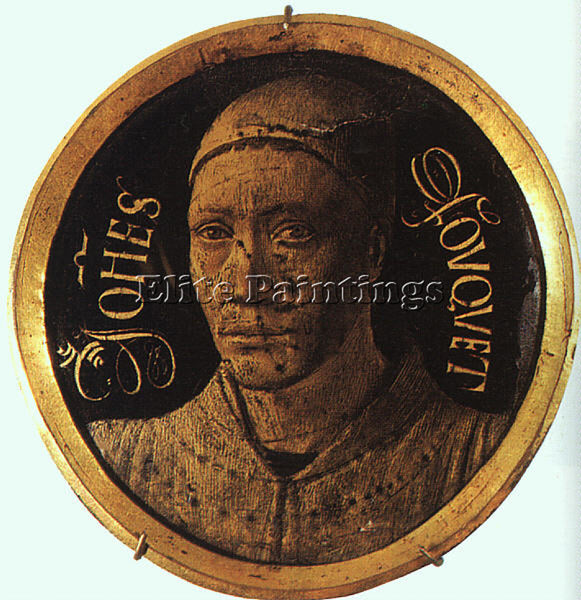 JEAN FOUQUET FOUQ7 ARTIST PAINTING REPRODUCTION HANDMADE CANVAS REPRO WALL DECO