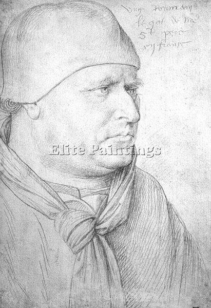 JEAN FOUQUET FOUQ9 ARTIST PAINTING REPRODUCTION HANDMADE CANVAS REPRO WALL DECO