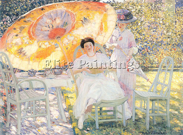 FRIESEKE FREDERICK CARL FRED3 ARTIST PAINTING REPRODUCTION HANDMADE CANVAS REPRO