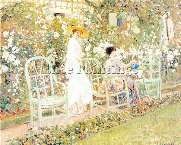 FRIESEKE FREDERICK CARL FRED4 ARTIST PAINTING REPRODUCTION HANDMADE CANVAS REPRO