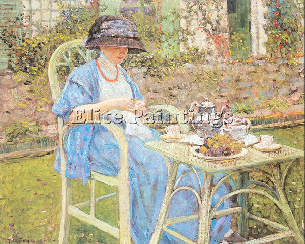 FRIESEKE FREDERICK CARL FRED5 ARTIST PAINTING REPRODUCTION HANDMADE CANVAS REPRO