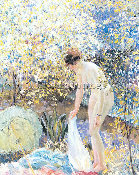 FRIESEKE FREDERICK CARL FRED8 ARTIST PAINTING REPRODUCTION HANDMADE CANVAS REPRO