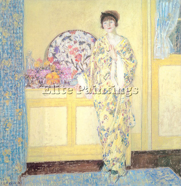 FRIESEKE FREDERICK CARL FRED10 ARTIST PAINTING REPRODUCTION HANDMADE OIL CANVAS