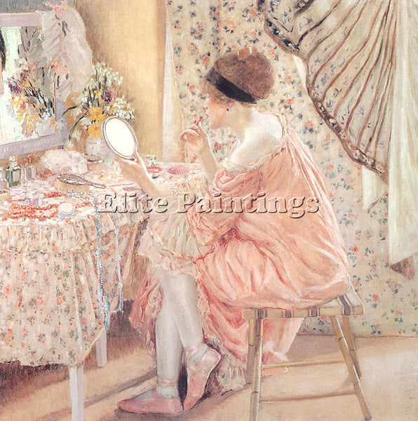 FRIESEKE FREDERICK CARL FRED12 ARTIST PAINTING REPRODUCTION HANDMADE OIL CANVAS