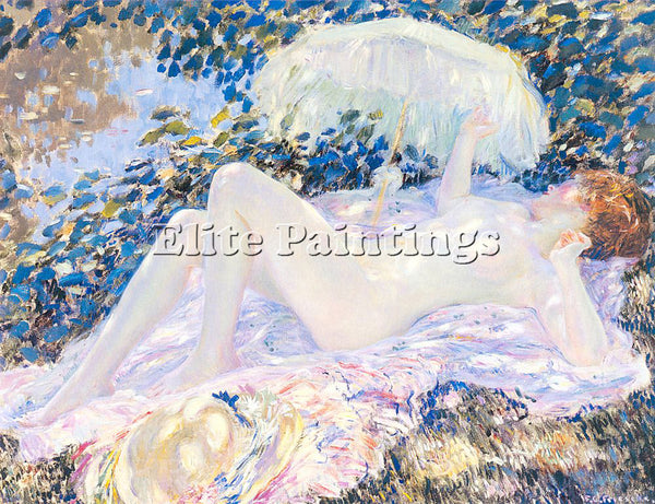 FRIESEKE FREDERICK CARL FRED13 ARTIST PAINTING REPRODUCTION HANDMADE OIL CANVAS