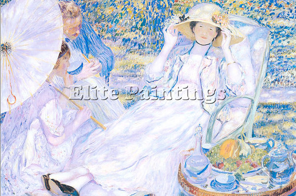 FRIESEKE FREDERICK CARL FRED15 ARTIST PAINTING REPRODUCTION HANDMADE OIL CANVAS