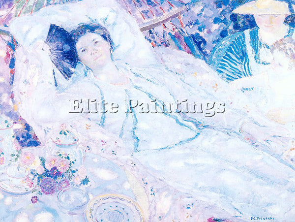 FRIESEKE FREDERICK CARL FRED18 ARTIST PAINTING REPRODUCTION HANDMADE OIL CANVAS
