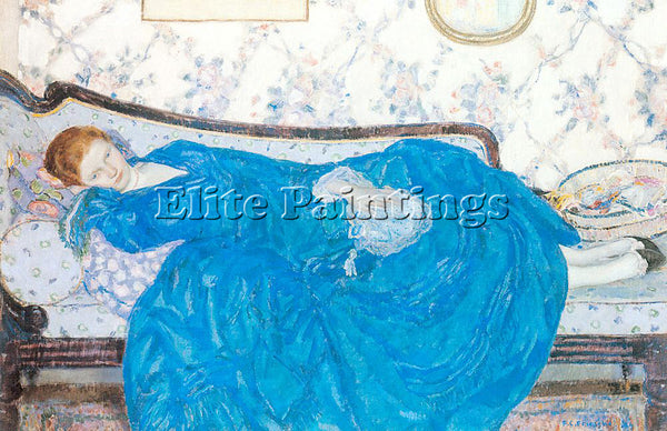 FRIESEKE FREDERICK CARL FRED20 ARTIST PAINTING REPRODUCTION HANDMADE OIL CANVAS