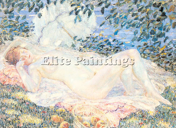 FRIESEKE FREDERICK CARL FRED21 ARTIST PAINTING REPRODUCTION HANDMADE OIL CANVAS